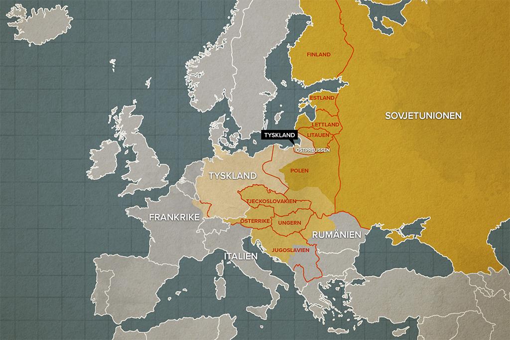 Nya Lander Efter Forsta Varldskriget